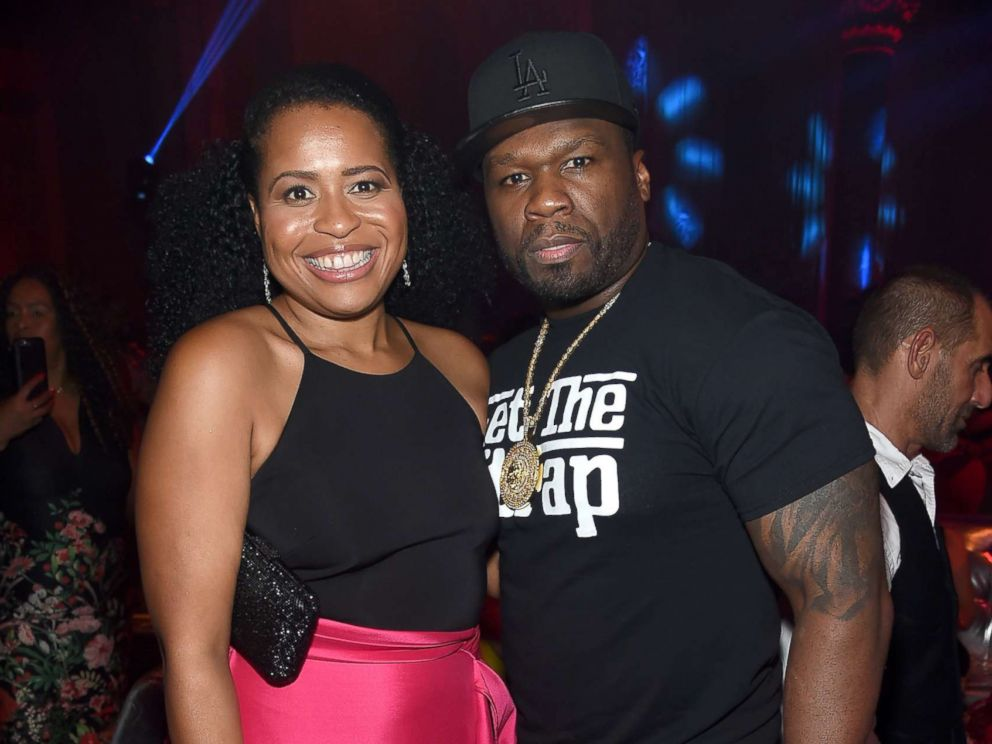 Power  creator Courtney Kemp says her series  is not a black show     PHOTO  Power Creator and Executive Producer Courtney Kemp  L  and Curtis 50  cent