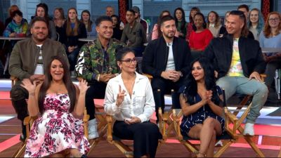 'Jersey Shore' cast dishes on their reunion special Video ...
