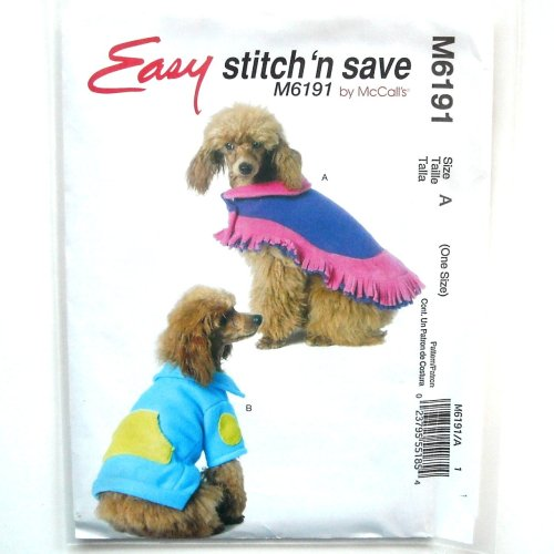 The Dog Poncho Mccalls Stitch Save Sewing Pattern Dog Clos Patterns Download Dog Clos Patterns T Shirt