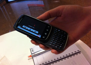 Motorola Spice, projetado no Brasil.