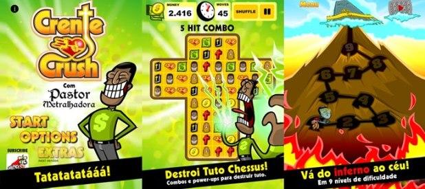 O pastor maluco do Mundo Canibal ganha seu próprio game (Foto: Divulgação)