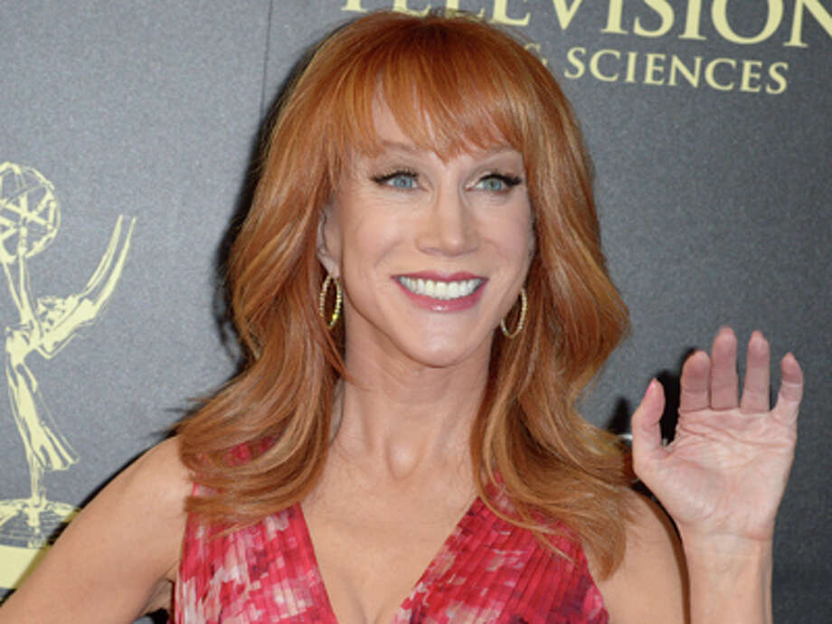 Kathy Griffin says she s been placed on a  kill list    SFGate Kathy Griffin arrives at the 41st annual Daytime Emmy Awards at the Beverly  Hilton Hotel on