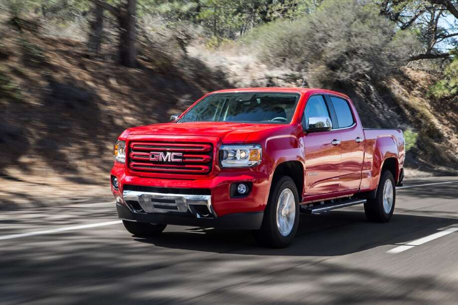 GMC goes  small  with 2015 Canyon pickup truck   Houston Chronicle The 2015 GMC Canyon is an all new midsize truck that raises the bar for