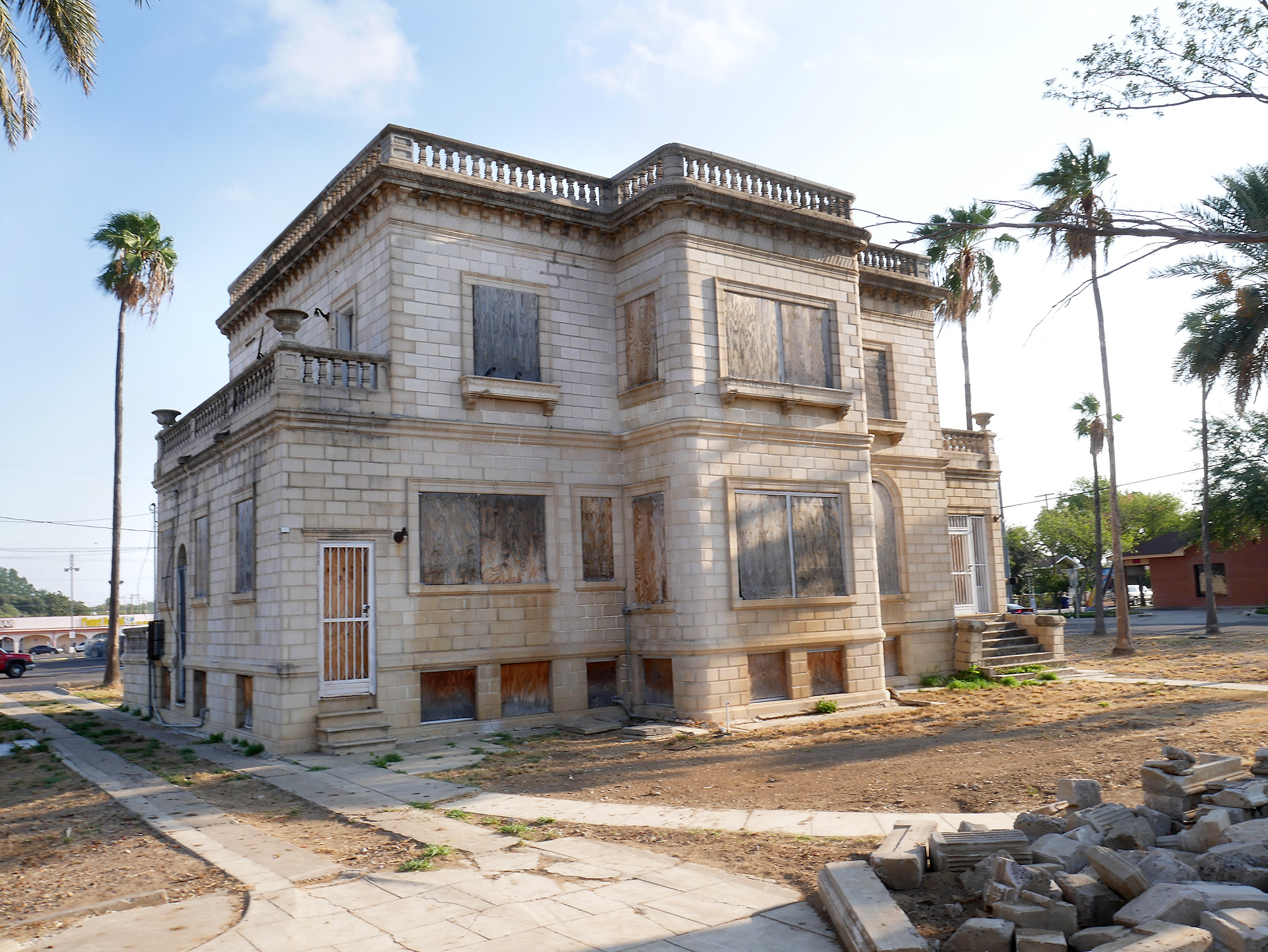 Perfect French Chateau City Takes On Restoration Central Laredo Laredomorning Times City Takes On Restoration Central Laredo Rivera Eral Home Mission Texas Rivera Eral Home French Chateau Bronx curbed Rivera Funeral Home