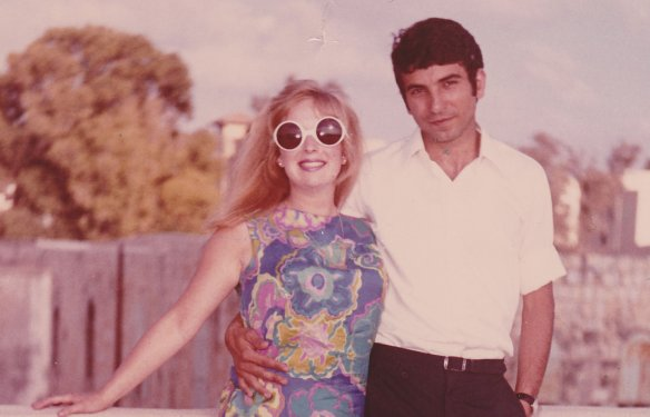 Deanne & Mahmoud Hajaj Honeymoon 1969_CHajaj