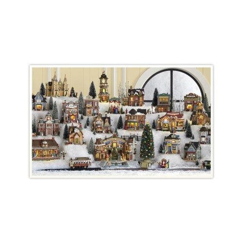 Medium Crop Of Christmas Village Houses