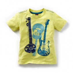 Tea Collection Sitar Guitar Graphic Tee