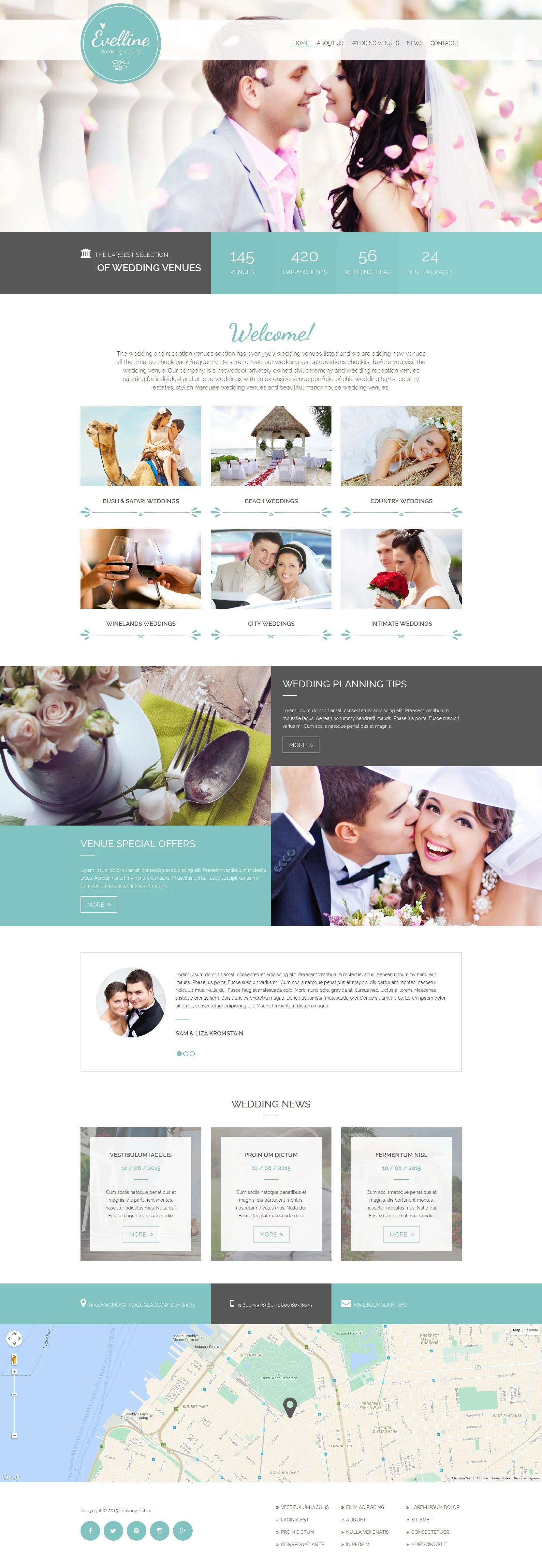 30+ Best Wedding Website Templates | Wedding HTML Templates
