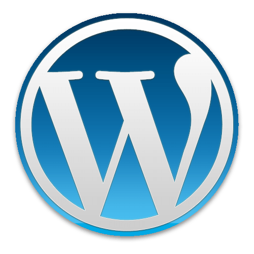 picture of the WordPress logo