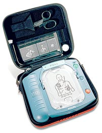 The HeartStart Home Defibrillator, from Philips for  $1,495.