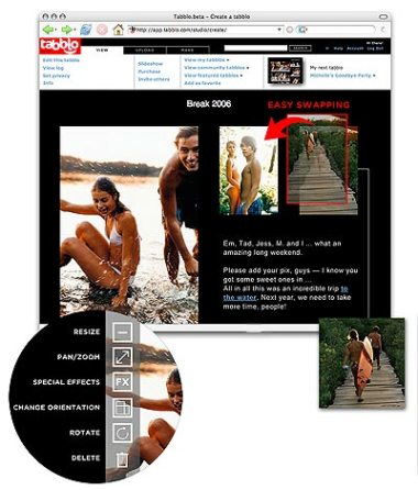 Tabblo photos