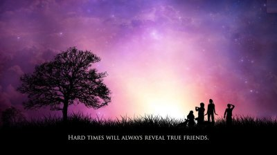 Friendship Quotes HD - Wallpaper, High Definition, High Quality, Widescreen