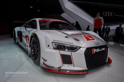 2016 Audi R8 LMS Races into GT3 with Stiffer Chassis and Extra Safety Features - autoevolution