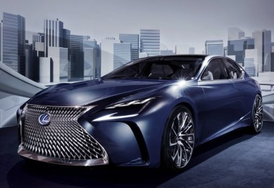 2018 Lexus LS Might Get Turbo Engine - autoevolution