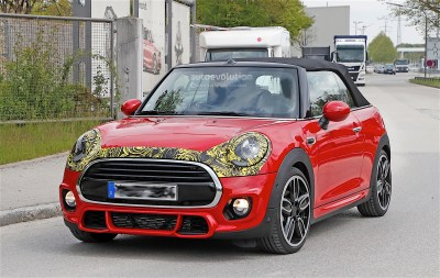 2018 MINI Cabrio And Cooper S Facelift Spied in Germany - autoevolution
