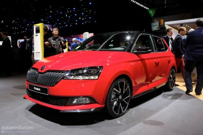 2018 Skoda Fabia Rolls Out Mid-Cycle Refresh At Geneva Motor Show - autoevolution