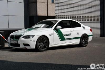 BMW M3 Dubai Police Car Spotted in Poland - autoevolution