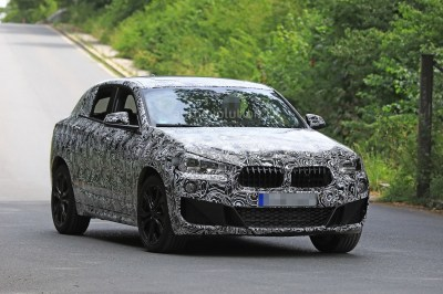 Spyshots: 2018 BMW X2 Interior And Front End Design Get Shown - autoevolution