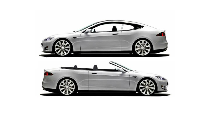 NCE to Build Tesla Model S Two-Door Coupe and Convertible Conversions [Photo Gallery]