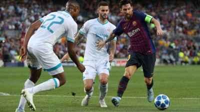 FC Barcelona 4-0 PSV Eindhoven: Buffet libre de Messi ante el PSV