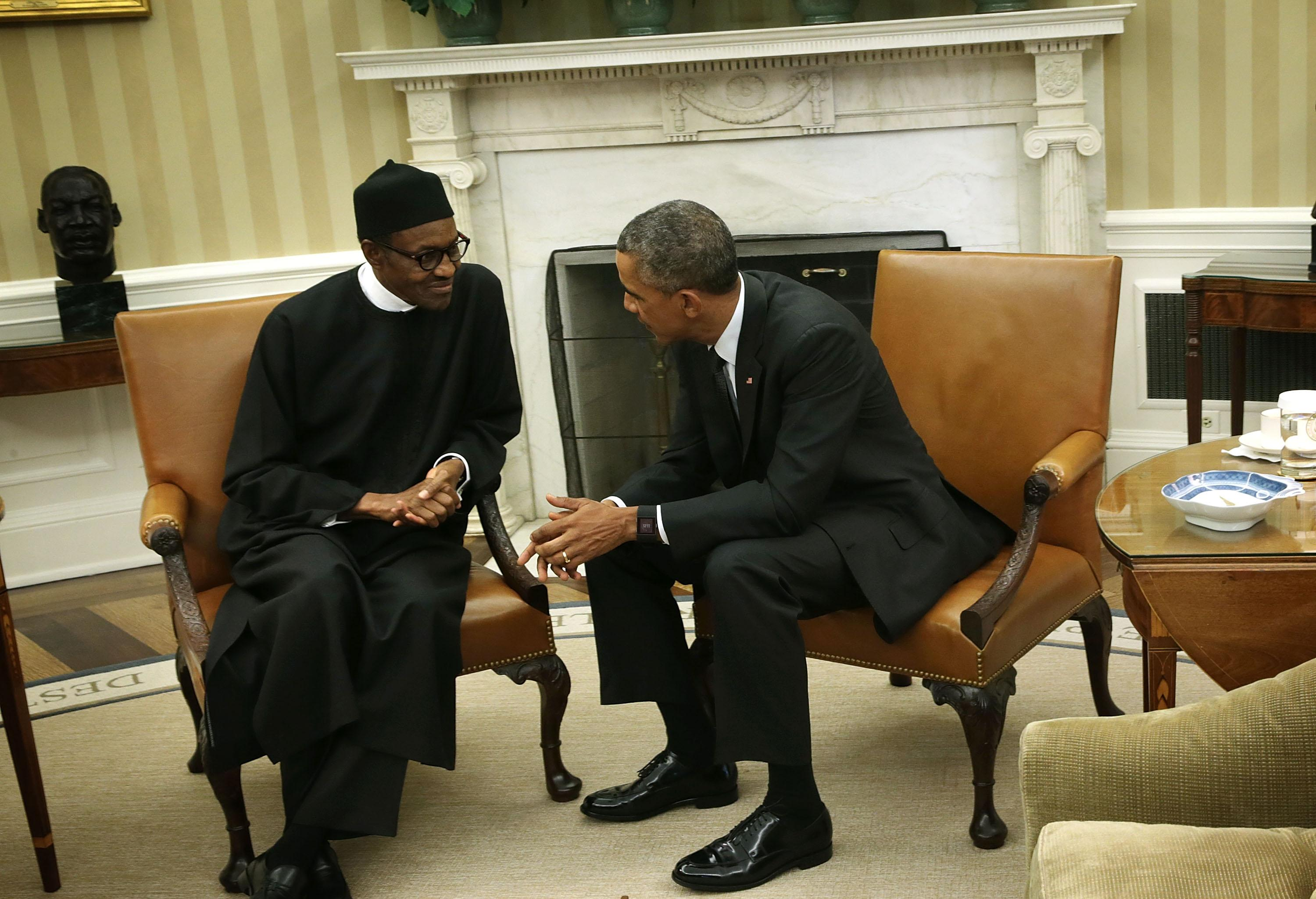 Image result for buhari and obama
