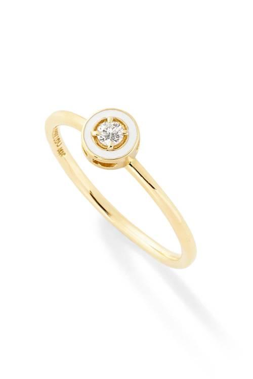 Medium Of Minimalist Engagement Rings