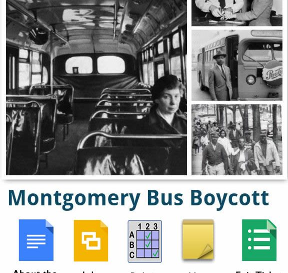 Interactive images of the Montgomer Bus Boycott