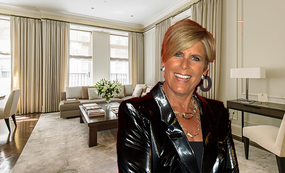 The Plaza Hotel and Suze Orman