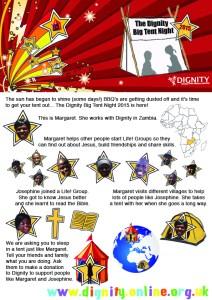 Big Tent Night 2015 Info Sheet