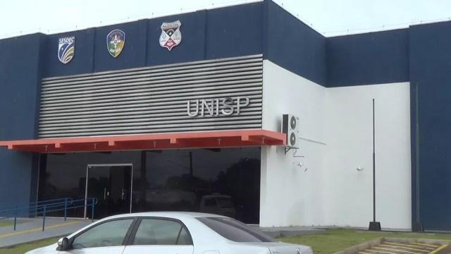 Caso foi registrado na Unisp de Jaru (Foto: Rinaldo Moreira/Rede Amazônica)