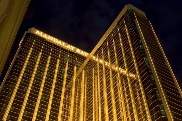 Foto de arquivo mostra o resort e casino Mandalay Bay em Las Vegas, Nevada (15/06/2004) (Foto: Ethan Miller/Reuters)