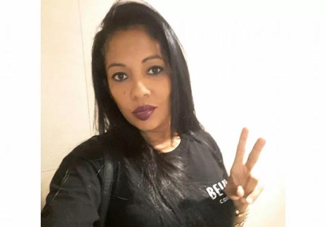 Estella Cristina Ribeiro registrou boletim de ocorrência contra o namorado um dia antes dele tentar matá-la, em Várzea Grande (MT) (Foto: Arquivo pessoal)