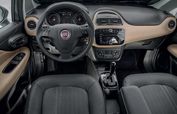 Fiat Linea 2016 interior