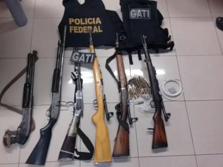 procuado da polícia da BA é preso em Salgueiro, Sertão de PE (Foto: Divulgação/ PF)