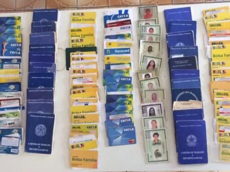 Homem foi preso com o material nesta quinta-feira em Venturosa (Foto: Divulgação/Polícia Civil)