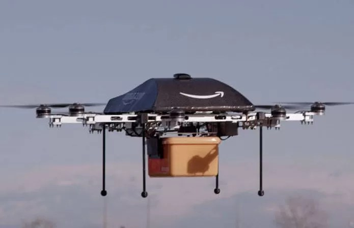 Drone de entregas da Amazon (Foto: Divulgação)