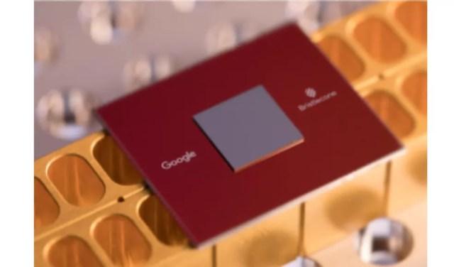 Processador quântico Bristlecone está sendo desenvolvido pelo Google (Foto: Divulgação/Google)