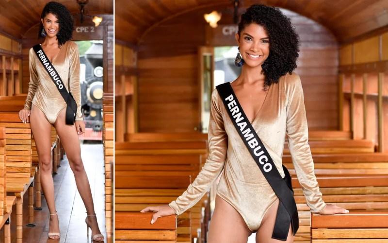 Bárbara Souza, 22 anos, estudante de publicidade, é a Miss Pernambuco — Foto: Rodrigo Trevisan/Divulgação/Miss Brasil