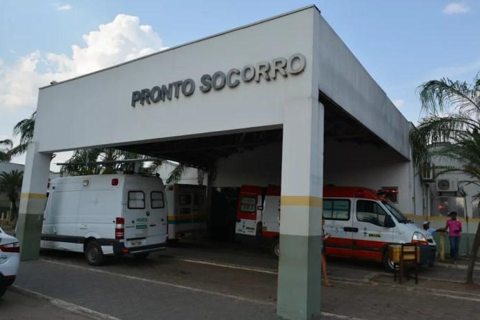 Vítima foi encaminhada para o Hospital e Pronto Socorro João Paulo II, em Porto Velho (Foto: Matheus Henrique/Arquivo pessoal)