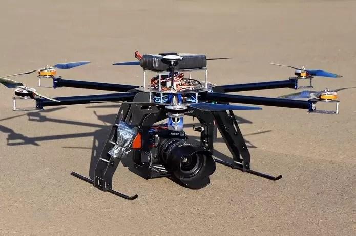 Já é possível fazer manutenção de drones no Brasil (Foto: Reprodução/Mercado Livre)