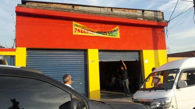 Estabelecimento ainda não tinha sido inaugurado em Santos, SP (Foto: Divulgação/Polícia Civil)