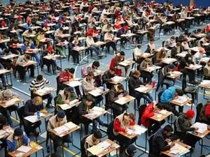 Estudantes disputam a 55ª Olimpíada Internacional de Matemática na África do Sul; Brasil ficou com cinco medalhas (Foto: Divulgação/OBM)