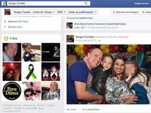 Mulher e filho de quatro anos morreram durante naufrágio em SP (Foto: Reprodução / Facebook)