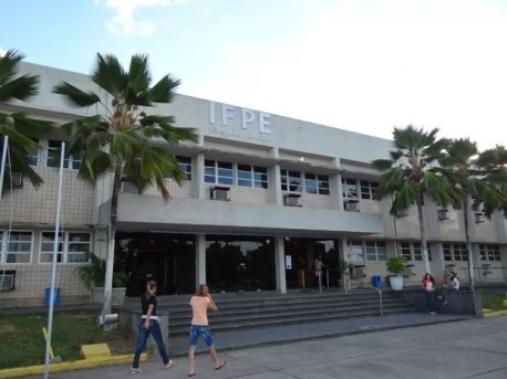 Campus de Recife da IFPE (Foto: Luna Markman/ G1)