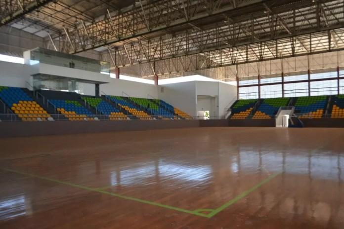 Copa Amazônia de Vôlei será no ginásio Cláudio Coutinho, em Porto Velho (Foto: Lívia Costa)