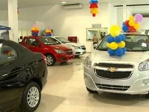 venda carros concessionária (Foto: Reprodução/EPTV)