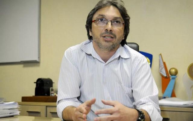 Novo diretor-geral do DER-DF, Márcio Buzar, em imagem de 2015 (Foto: Renato Araújo/Agência Brasília)
