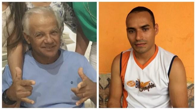 O piloto Elcides Rodrigues Pereira e o técnico de enfermagem Ednilson Cardoso iriam para a comunidade indígena Marari regatar uma criança doente (Foto: Reprodução/Rede Amazônica Roraima e Emily Costa/G1 RR)