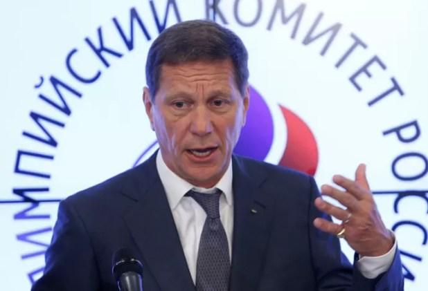 Alexander Zhukov comitê olímpico da rússia (Foto: Reuters)
