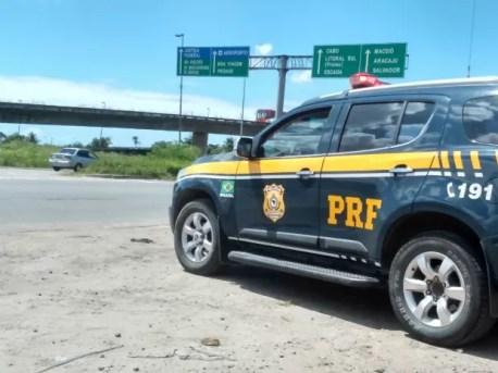 PRF registrou cinco mortes nas estradas que cortam PE durante feriadão de 7 de setembro (Foto: Polícia Rodoviária Federal/Divulgação)